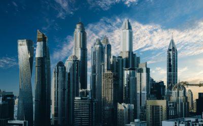 biurowe wieże