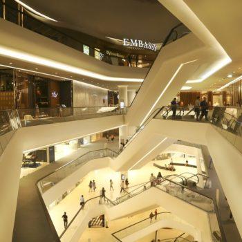 centra handlowe